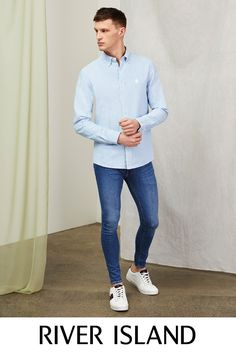 Men's new clothes from River Island - get this season's latest arrivals from your favourite high street store. Shop the full collection online. New Outfits, River Island, Normcore, Seasons, Clothes, Shopping, Collection, Women, Fashion