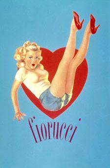 Fiorucci pinup poster