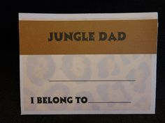Name tags dads and tags on pinterest