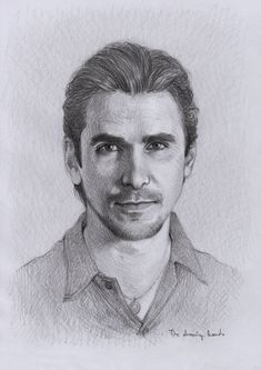 Christian Bale by thedrawinghands on deviantART ~ pencil portrait