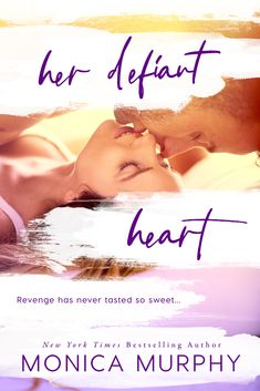 """Blog Tour, Review & Excerpt ~ Her Defiant Heart (Damaged Hearts #1) by Monica Murphy  3.5 stars ~ """"Her Defiant Heart is the first book in a trilogy and is a genre step for Monica Murphy as she tackles, once again, New Adult Contemporary Romance. I love this authors YA books and I couldn't wait to dive into something a little hotter and Monica Murphy didn't disappoint..."""""""