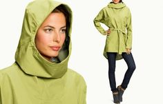 10 for the Road: Stylish Rain Gear for Urban Cycling, including the Nau Poncho Via waterproof jacket. http://velojoy.com