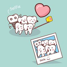 Want to improve your smile but don't want to do anything too permanent? There's a dental solution for you. You can improve your smile with lumineers. Dentist Puns, Dentist Cartoon, Dentist Art, Tooth Cartoon, Dental Jokes, Dental Logo, Dental Facts, Teeth Health, Dental Health