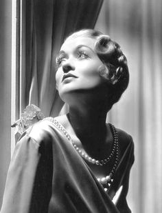 "wehadfacesthen: "" Constance Bennett in a 1932 photo by George Hurrell ""I've always been interested in everything I did, or else I wouldn't do it. When you're that interested in anything, you're..."