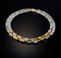 Moonstone Bead Necklace  Vicki Eisenfeld
