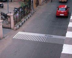 Creative Zebra Crossing