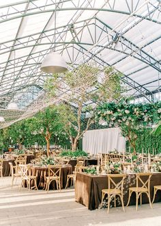 We have a major crush on this enchanted forest wedding that took place in a twinkle lit greenhouse. With a wooden stump seating chart, walnut velvet linens and a 92 year old flower grandma, we cannot wait for you to glimpse this magical woodland wedding day! Forest Wedding Reception, Tent Reception, Rooftop Wedding, Luxe Wedding, Ballroom Wedding, Wedding Reception Decorations, Wedding Day, Enchanted Forest Wedding, Magical Forest