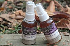 Herbal First Aid Spray. Cleanses and promotes healing.