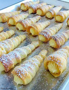 Кулинарные моменты: Трубочки с кремом