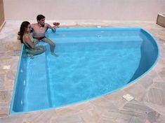 Resultado de imagem para area de lazer com churras – PİSCİNA Pools For Small Yards, Small Backyard Landscaping, Swimming Pool Heaters, Swimming Pools, Piscina Pallet, Pond Tubs, Simple Pool, Small Pool Design, Mini Pool