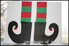 elf feet craft - musings of me