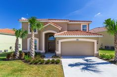 Our gorgeous Orlando Aviana Villa has 6 bed, bathroom vacation rental home with your own private pool is located in the beautiful, Aviana Resort. Florida Style, Florida Home, Florida Villas, Great Vacations, Heated Pool, Gated Community, Private Pool, The Hamptons, Orlando