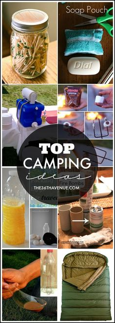 Top Camping Ideas for this summer! Going to need these!