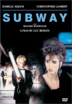 Subway est un film policier dramatique français réalisé par Luc Besson, sorti en 1985