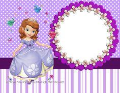 Princess Sofia Invitations, Barbie Birthday Invitations, Princess Sofia Birthday, Tangled Birthday, Mickey Mouse Parties, Mickey Mouse Birthday, Toy Story Birthday, Toy Story Party, Happy Birthday Messages