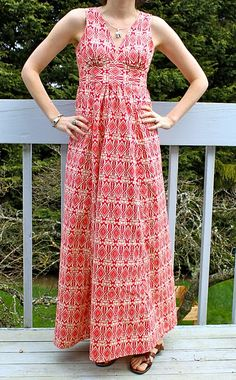 Pattern: Simplicity 3803 by Fake it while you make it. LOVE.