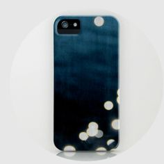 iPhone 5 case, iPhone 5s, last minute gift, nautical, ocean, midnight, blue, stars, iPhone case - Sparkle II, iPhone 4 or 5 case