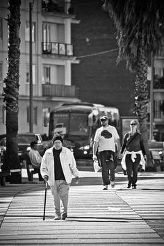 Montevideo - Uruguay / Rambla Pocitos by alejandro.arcardini, via Flickr