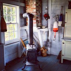 E.B. White's writer's studio, Brooklin, ME. Cue envy