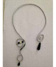 Girocollo Silver...black! by Un Amore di Ragazza