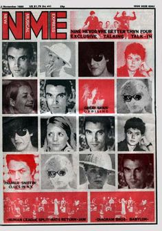 NME Talking Heads cover.