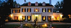 Hendersonville Bed & Breakfast near Asheville, NC — Melange B & B Inn-Garden Weddings-Private Dining