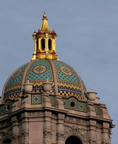 Beverly Hills City Hall dome.