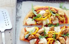 Mosselpizza #Pizza #Powerslim #Healthyfood