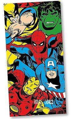 Beach Bath, Beach Towel, Hero Spiderman, Superhero, Marvel Heroes, Marvel Comics, Wolverine Avengers, Pool Towels, Cotton Towels
