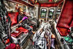 Emergency Response Portraits - dansunphotos #EMT #Reality #EMS #FirstResponders #Police #Art #Photoshop