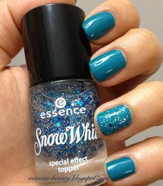 Mission Beauty: Haftanın Ojesi(Ojeleri) / Pastel 68 - Essence Snow White 03 Prince Charming Blue Nails