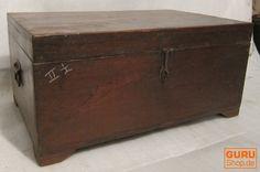 Holz Truhe, Schachtel Vintage Design