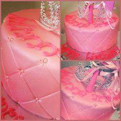 1st Birthday Princess cake