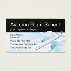 Aviation business buscar con google aviation business cards aviation flight school instructor business card office gifts giftideas business colourmoves