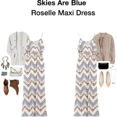 Skies are Blue Roselle Maxi Dress - Google Search