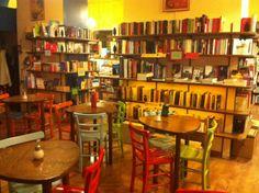 Libreria - Ristorante - Caffetteria Wifi Password, Four Square, Rome, Bookcase, Shelves, Bar, Coffee, Furniture, Home Decor