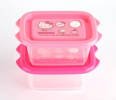Hello Kitty Lunch Case Set: Cafe