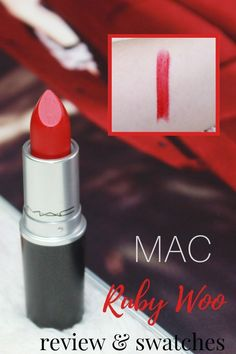 Mac Ruby Woo Review, Lipstick Swatches, Beauty Hacks, Beauty Tips, Skin Makeup, Cosmetics, How To Make, Pink, Beauty Tricks