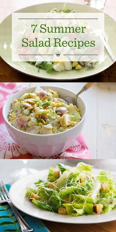 These delicious and refreshing summer salad recipes are perfect for those hot summer days. Get more ideas & inspiration on our site: www.hallmarkchann...#summernights #hallmarkchannel