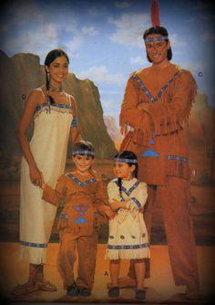 Native American group Costume