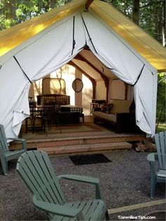 Glamping in the San Juan Islands at the Lakedale Resort. I want to put one of these in my back yard.
