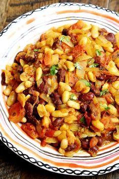 Red and White Bean Curry with Mushrooms and Tomatoes - Grains and Legumes, Recipes - Divine Healthy Food Vegan Bean Recipes, Raw Food Recipes, Indian Food Recipes, Vegetarian Recipes, Healthy Recipes, Diabetic Recipes, Healthy Foods, Diet Recipes, Biggest Loser Recipes