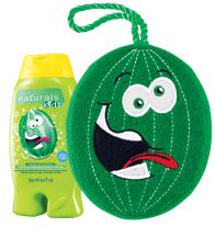 NATURALS KIDS Wacky Watermelon Body Wash & Bubble Bath with matching Sponge! Regularly $6.99, buy Avon Naturals online at http://eseagren.avonrepresentative.com