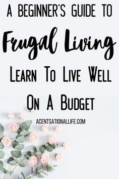 Frugal Living Hacks For 2020 To Still Enjoy Life - A CENTSational Life - Finance tips, saving money, budgeting planner