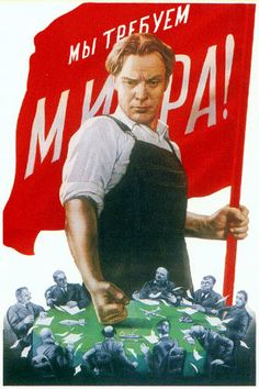 soviet-poster-WE DEMAND OF PEACE