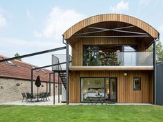 Hambush Holiday Let — Orme Architecture: Architecture for the environment - Somerset - South West - UK Barn Style House Plans, A Frame House Plans, Modern Barn House, Barn Conversion Exterior, Barn House Conversion, Barn Conversions, Arch House, Facade House, Quonset Homes