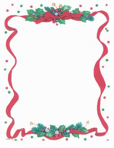 PRINTABLE CHRISTMAS TIDINGS STATIONERY Christmas Clipart, Christmas Paper, Christmas Printables, Christmas Boarders, Christmas Background, Printable Paper, Free Printable, Holidays And Events, Happy Holidays
