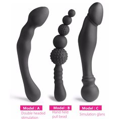 Female Male Stimulated G-spot Stopper Butt Plug Anal Bead For Valentine's Day Surprise Gift