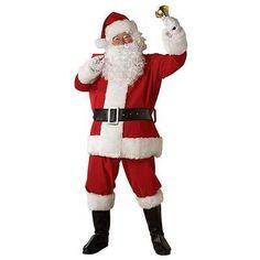 Costume SuperCenter 23331R Adult Regal Plush Santa Suit, Extra Large