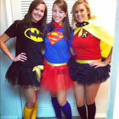 Superhero Costumes - for when I actually get a chance to dress up with the kiddos!